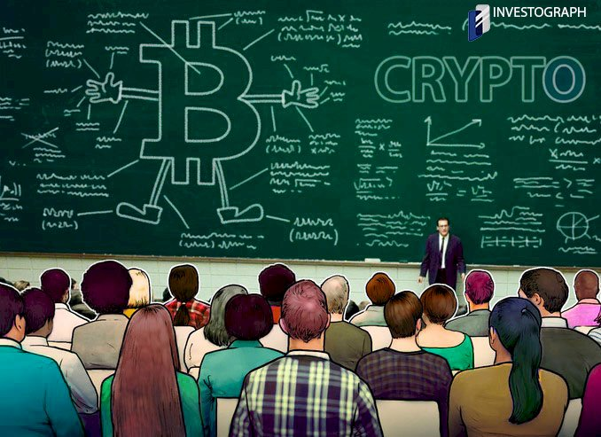 French High school Introduce to learn Crypto currency