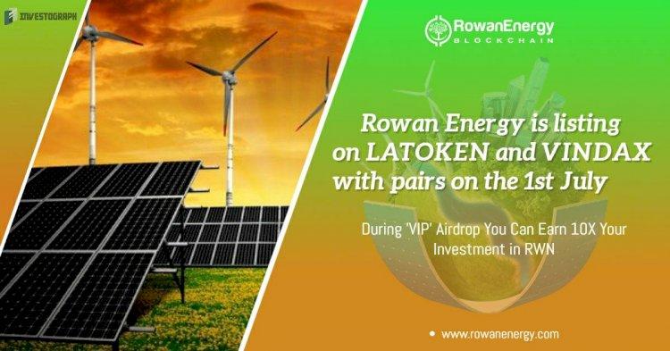 ROWAN ENERGY BLOCKCHAIN Community Fed Green Energy
