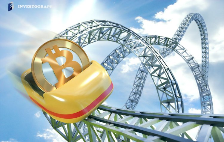 Bitcoin enters corrective period generating weekly losses of 3.80%