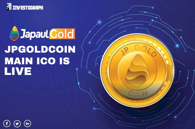 JPGOLDCOIN: MAIN ICO SALE IS LIVE
